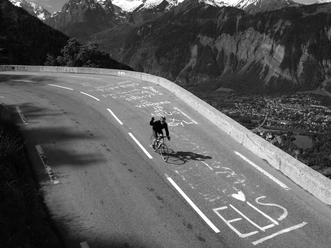 Alp d'Huez decent