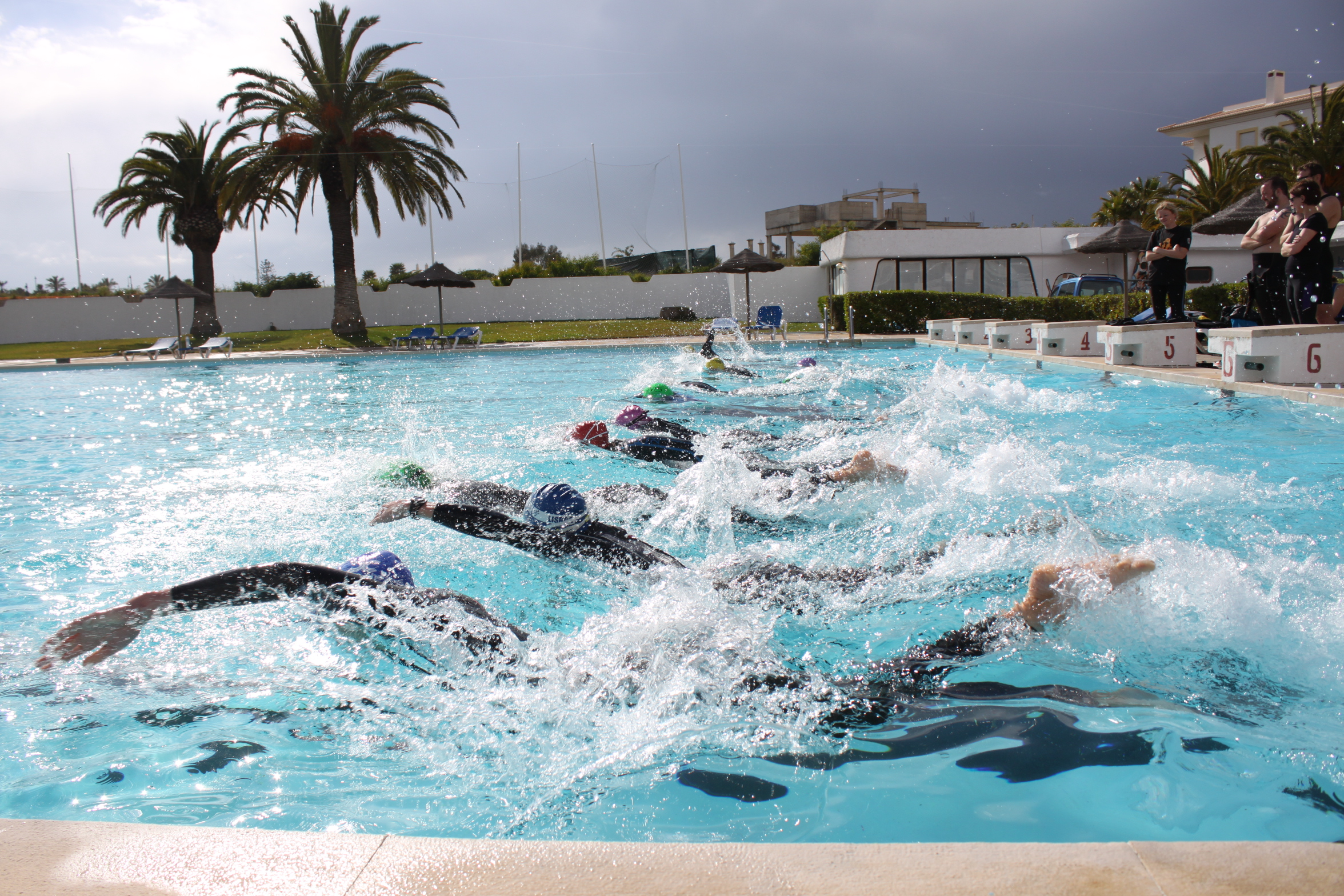 Aquathlon training with Embrace Sports triathlon camps