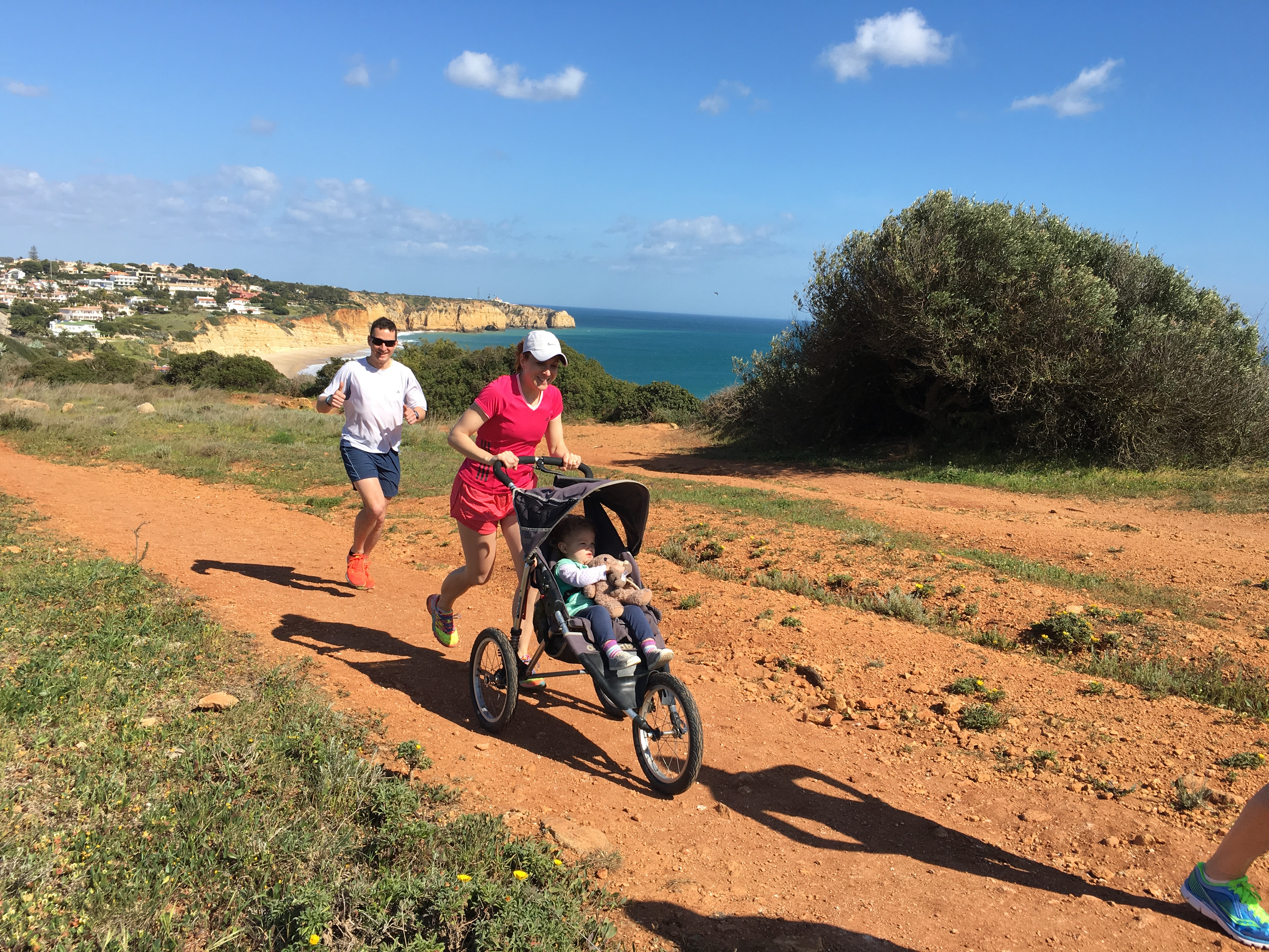 Family Running Holiday in Portugal with Embrace Sports