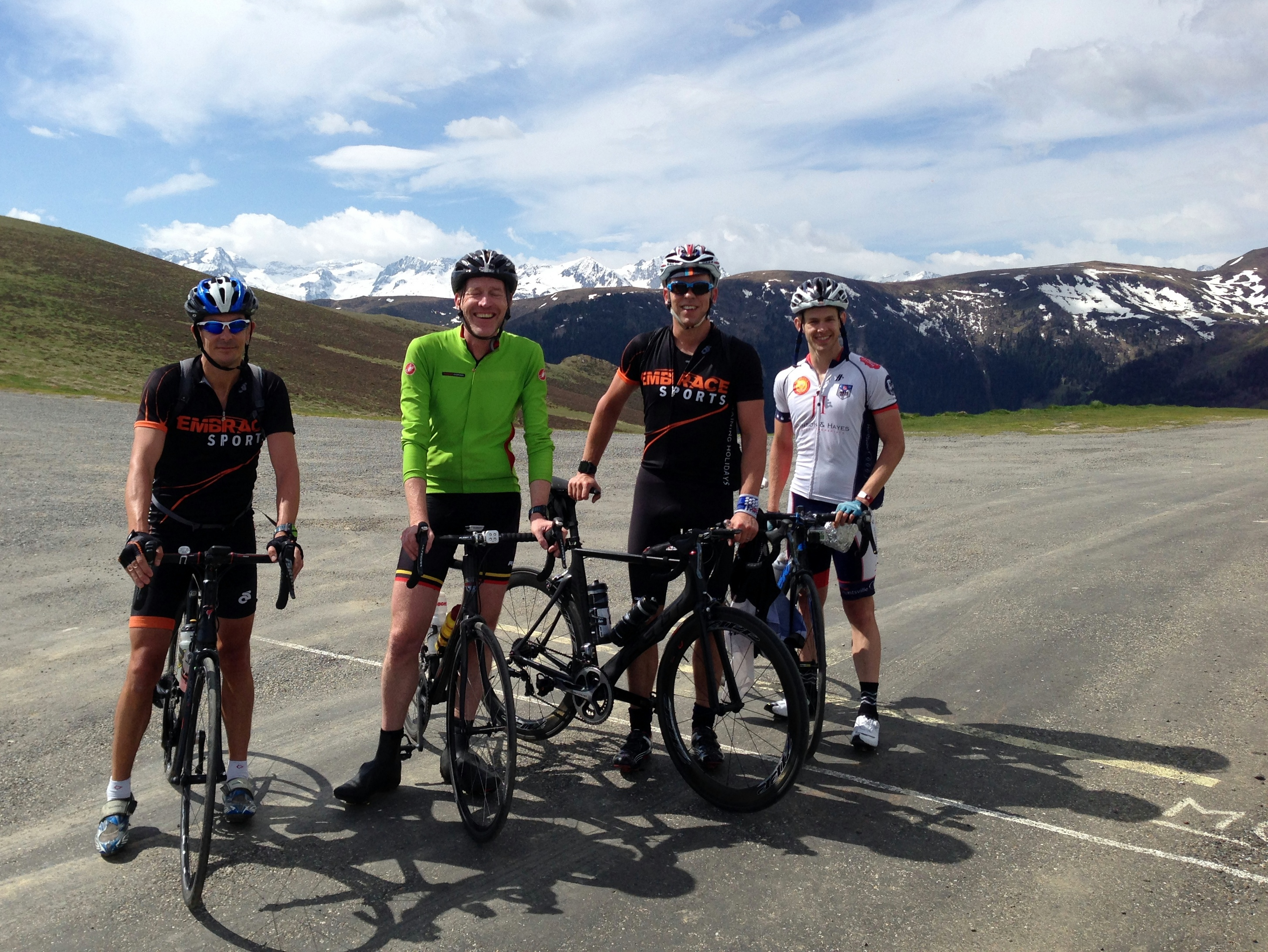 Cycling holiday in the Pyrenees. Richard Brimelow