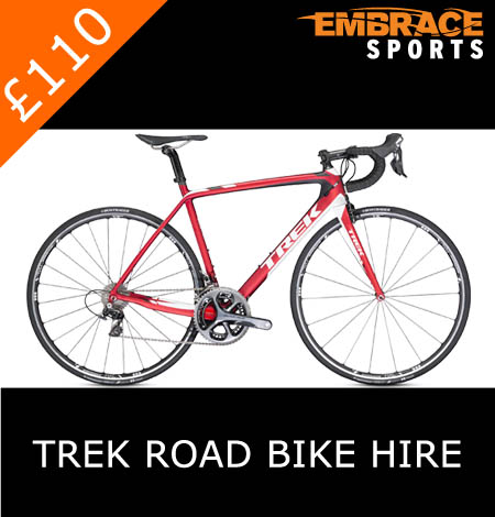 Road Bike Hire, Embrace Sports