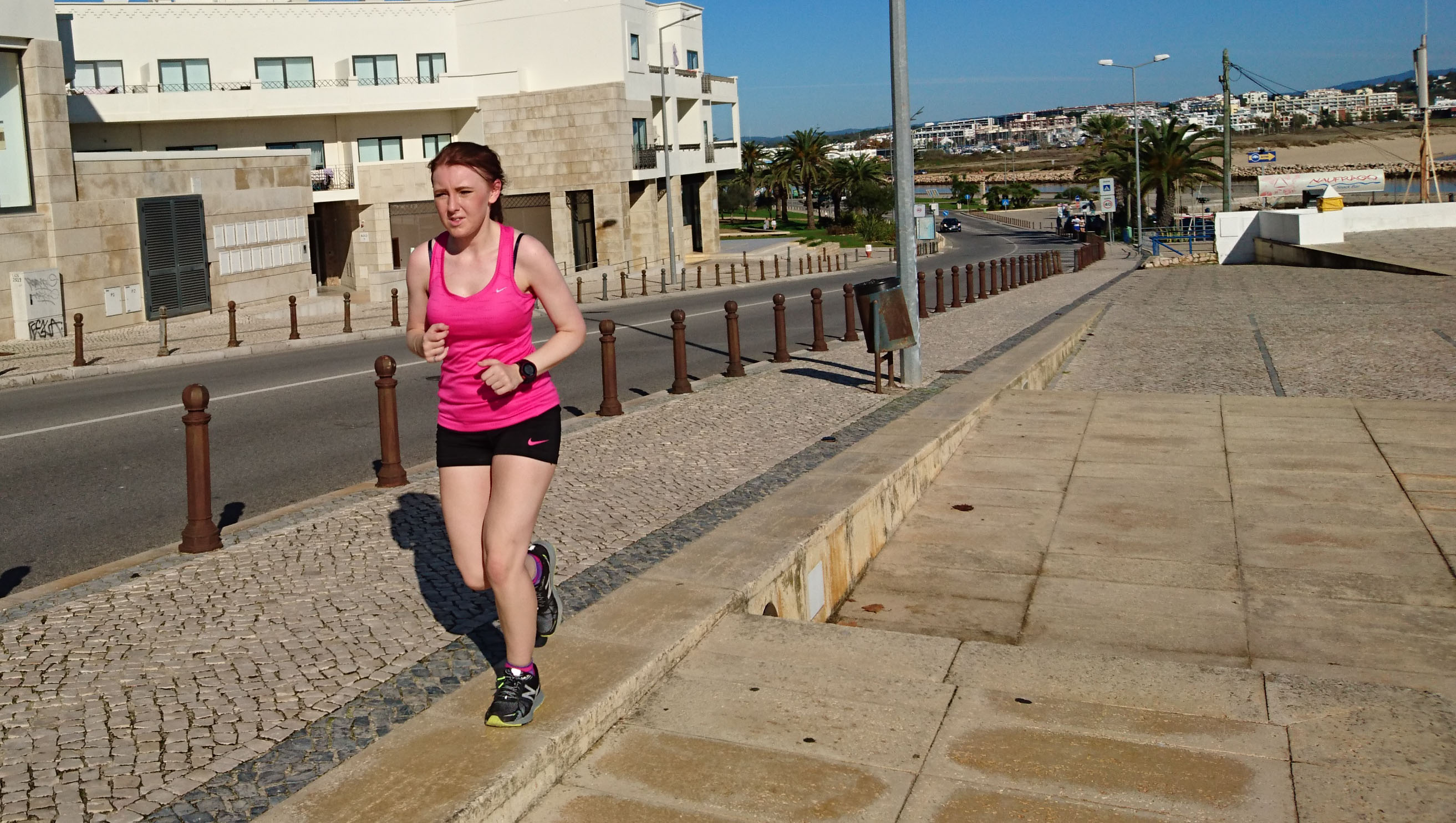 November running camp in sunny Portugal
