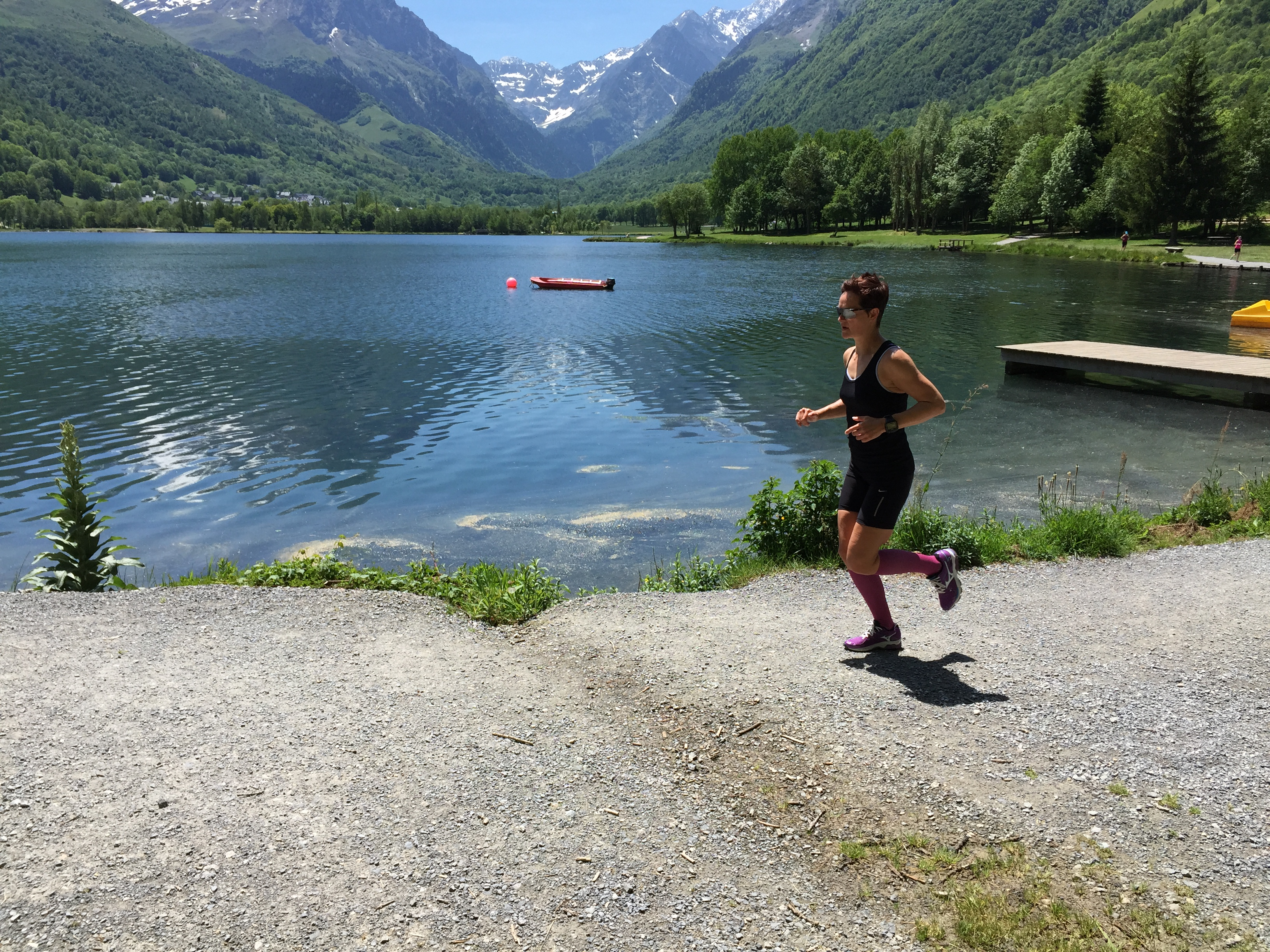 Running holiday in the Pyrenees France with Embrace Sports