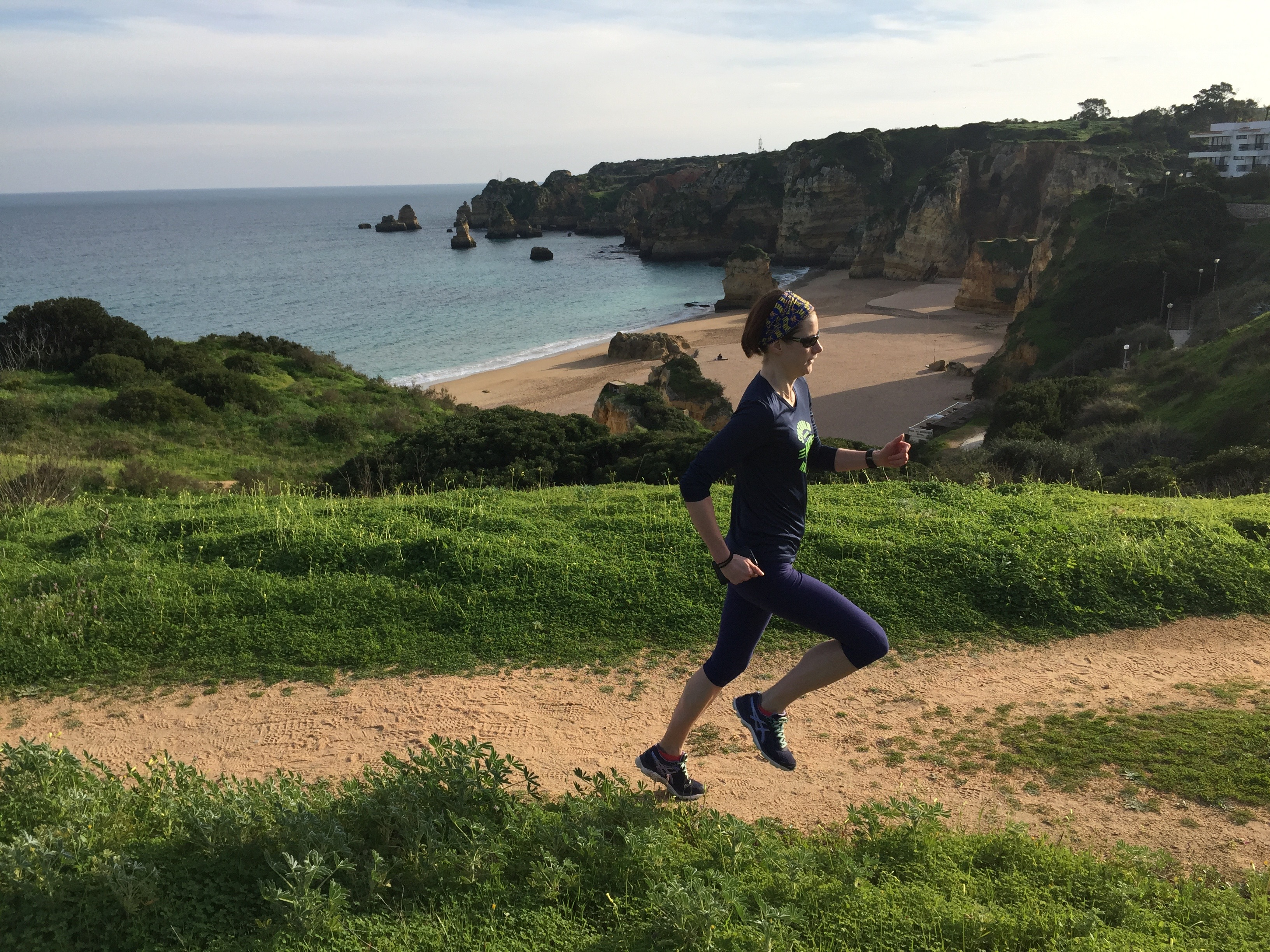 Recovery run with Embrace Sports running holidays