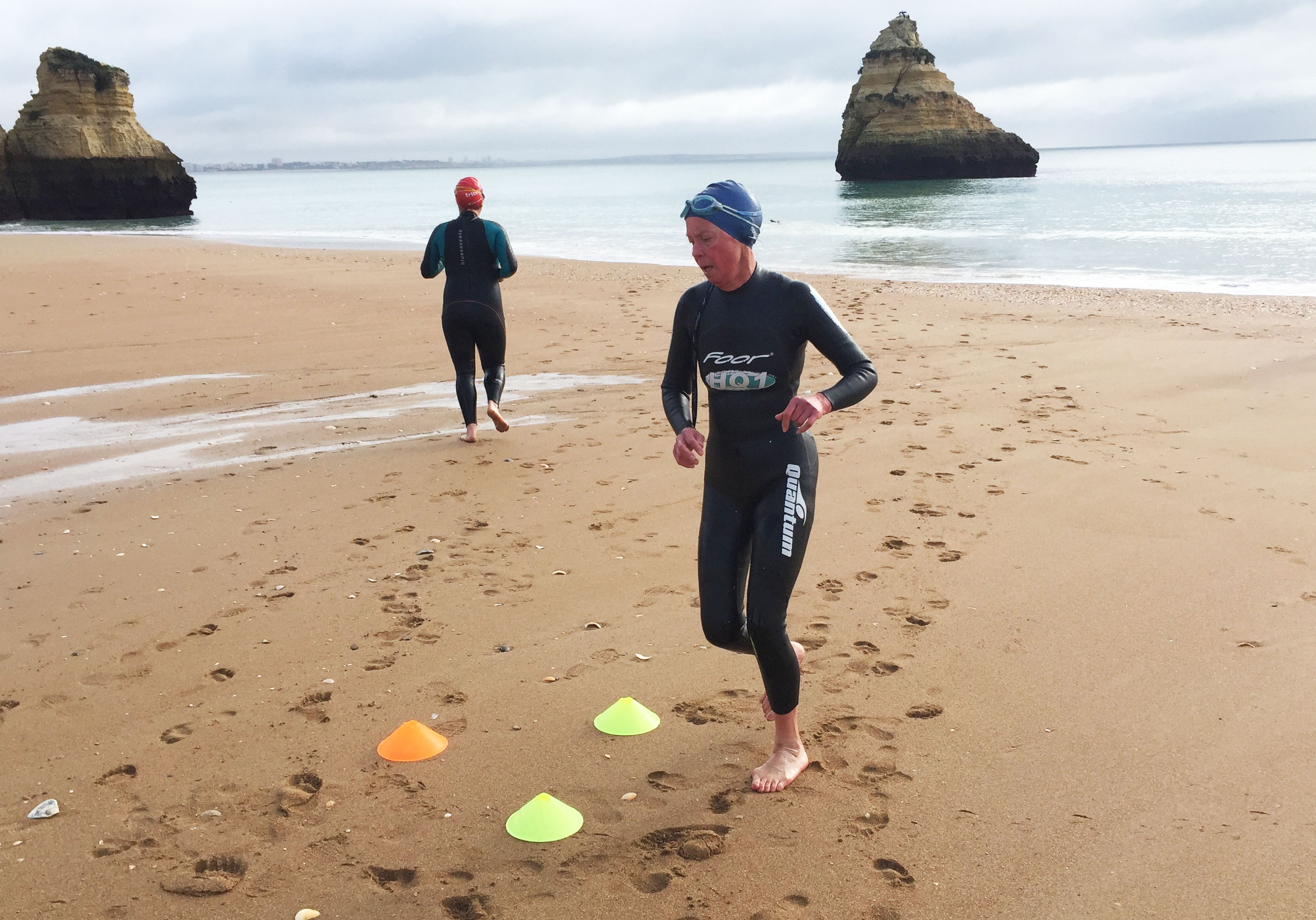 Aquathlon team relay with Embrace Sports
