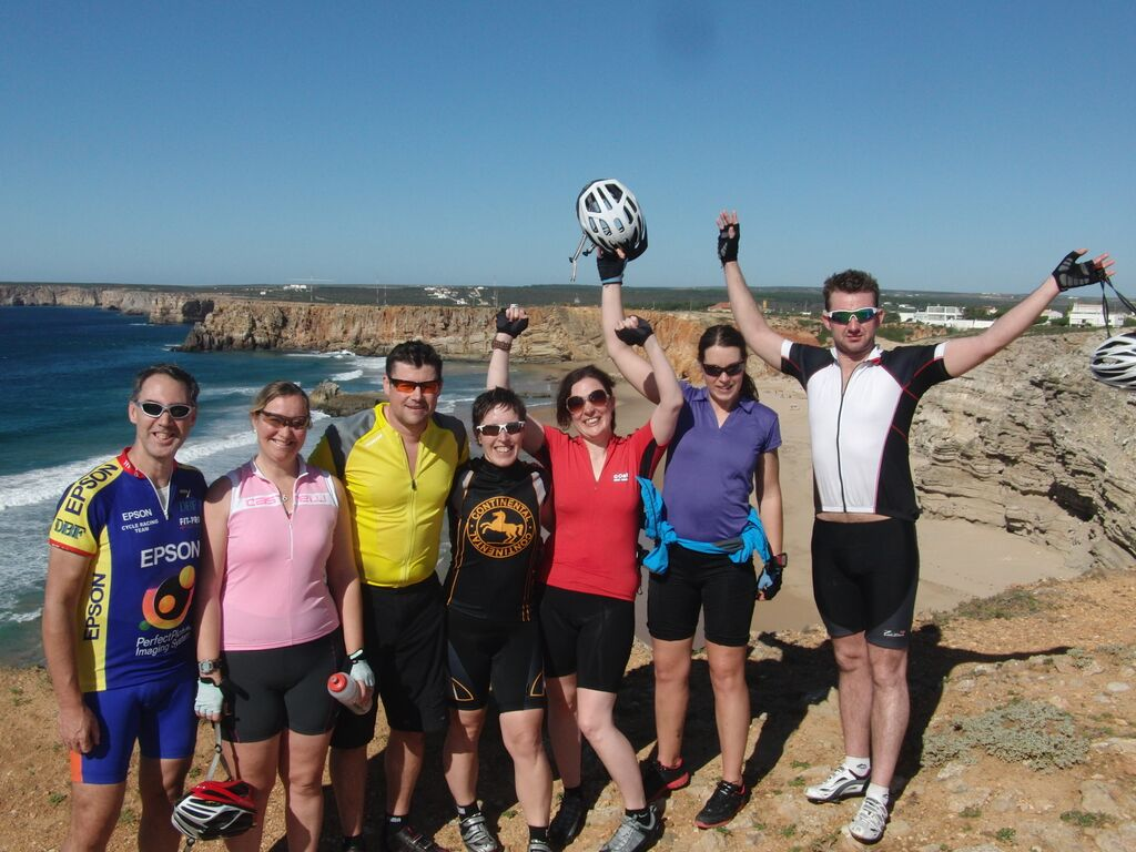 Sagres, Portugal ride on an Embrace Sports Triathlon Holiday 2012